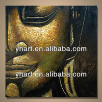 Handmade Modern Art Picture Buddha Painting Art With Gallery