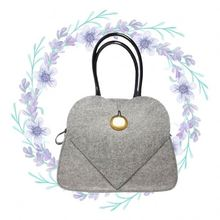 Practical felt wholesale chevron tote bag for promotion