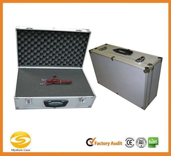 Deluxe Hard Shell Aluminum Storage box,aluminum storage flight case,aluminum tool travel carry case