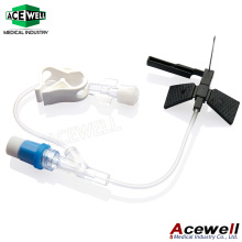 Acewell Safety Huber Needles Infusion Set