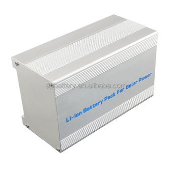 Rechargeable 120V 1000AH Lifepo4 Battery Pack For Solar Lights