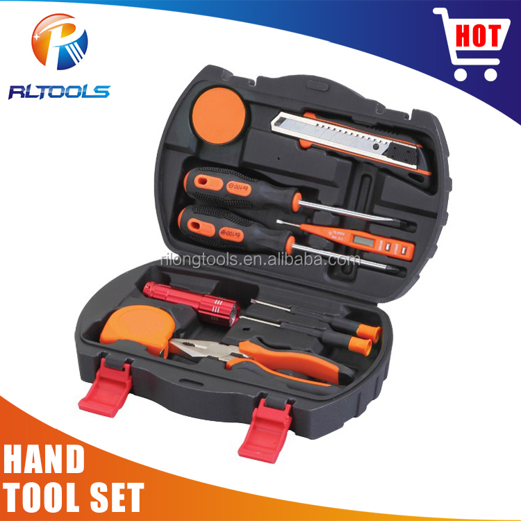 Hot sale Made In China Promotional High quality aluminium case hand tool set