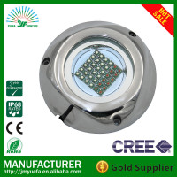 316 stainless steel led underwater pool light/marine led light 108W RGB/led underwater yacht light rustproof led light for boats