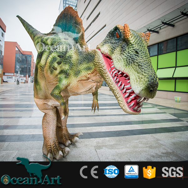 BY-DY-041503 Hot Sale Realistic Spinosaurus Dinosaur Costume
