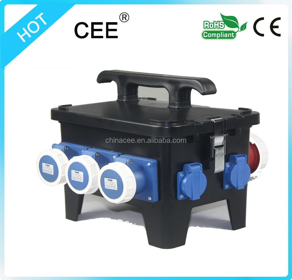CEE-18 mobile power socket equipment socket case distribution box