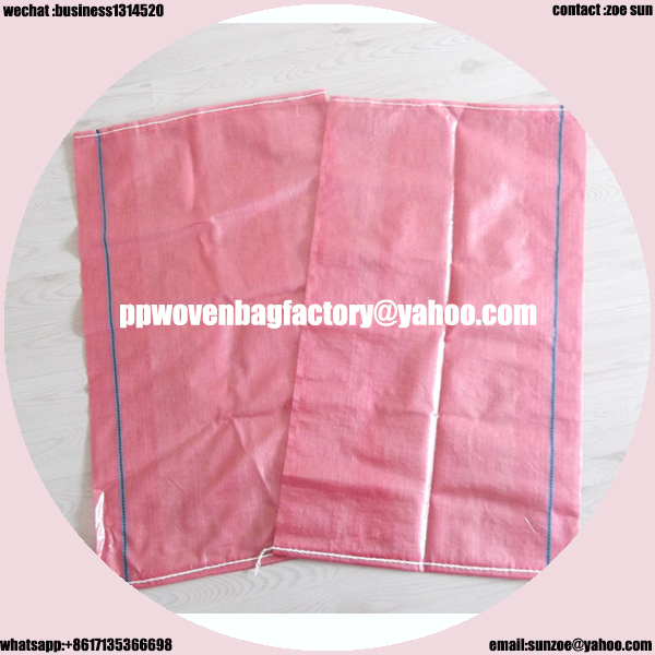 good and latest tubular transparent pp woven fabric bag width 30-80cm