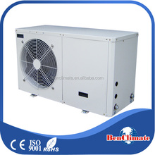Innovative air to water low power consumption air sourced EVI air conditioner