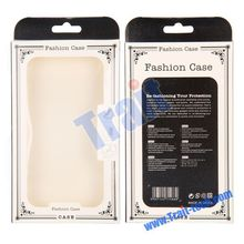 10.5x17.7x1.8cm Universal Fashion Case Package Transparent PVC Cellphone Packing Box with inner Plastic Frame
