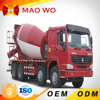 New 9m3 self loading concrete mixer truck used for sale