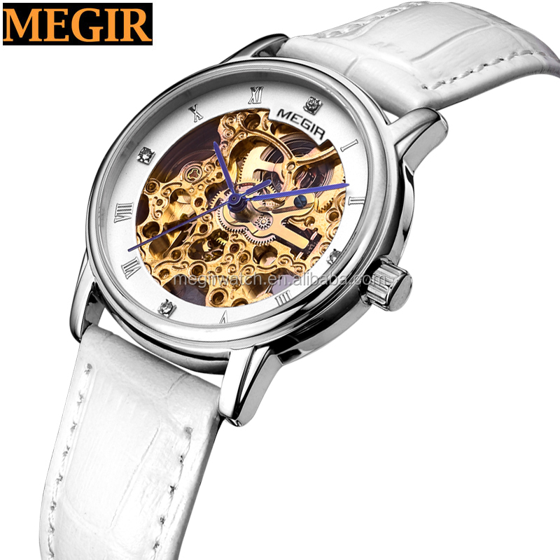 fashion design small dial white colour new style ladies watches