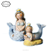 Home Decor Gifts Resin Miniature Mermaid Statues Fairy Garden Fantasy Figurines