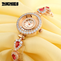 cool fashion watch for girls gift slim belt watch with diamond