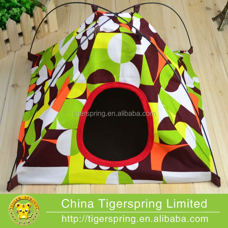 High quality oop pet dog cat teepee tent bed