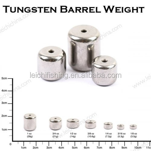 Wonderful Wholesale Cheap Tungsten Fishing Bullet Barrel Weight
