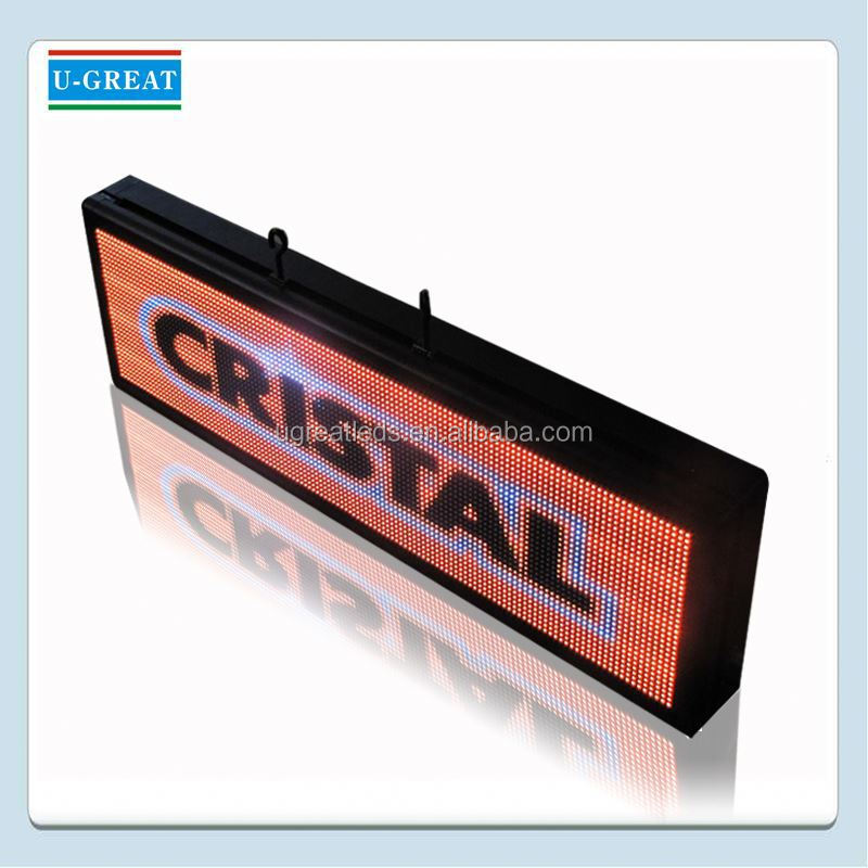 Ali export company 3G and Wifi functional 1r1g1b led display screen sign