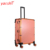 Yaeshii professional aluminum Beauty Box Vanity Toiletry Studio lighted rolling trolley makeup case with lights and mirror