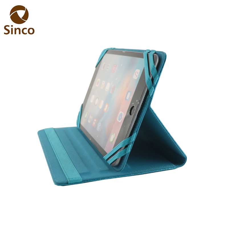 7 inch tablet case decorate elastic strap universal tablet case oem cover tablet case for ipad mini