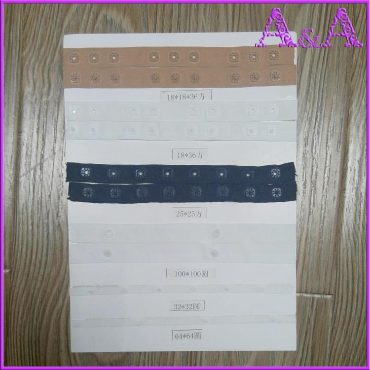 Plastic Snap Button Tape for Garment Polyester Tape Press Snap Button