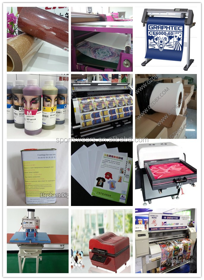 Sublimation Transfer Printer Plate Type Textile Printing