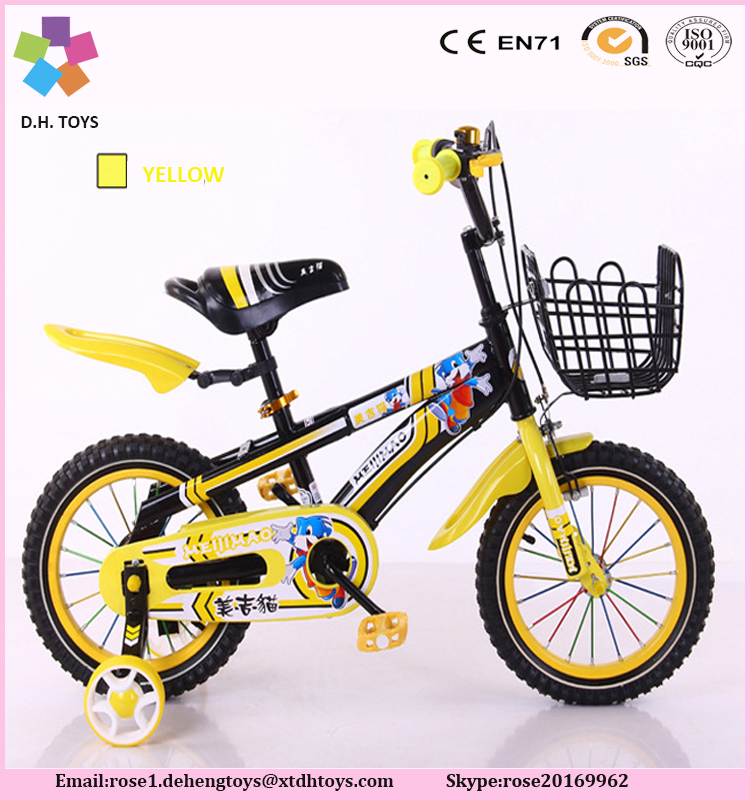 Hot sales designed 12 inch child bike for europe market factory