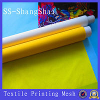 100 polyester mesh fabric for t shirts/polyester screen printing mesh;polyester mono silk wire mesh screen printing factory