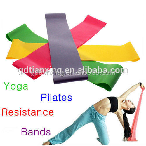 Factory Supply Covered Resistance Band sports cross trainer,latex resistance bands