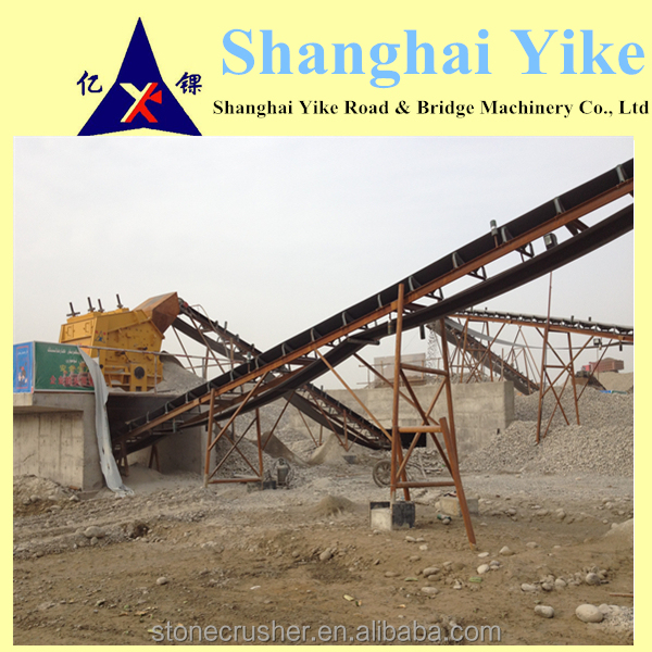 Different Models of QUALITY MANAGEMENT SYSTEM CERTIFICATE QUARRYING IMPACT CRUSHER CRUSHING PLANT With ISO9001 certificates