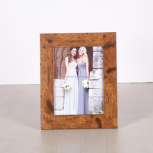 JC Antique Wooden Wedding Decoration Plastic Photo Frame