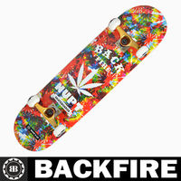 Backfire 2013 hot selling new design new skate board wood Professional Leading Manufacturer