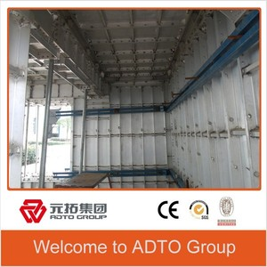 ADTO the latest design china product steel concrete shuttering prospect RUNDING aluminum formwork system
