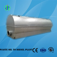 Full automatical waste oil recycling distillation equipment
