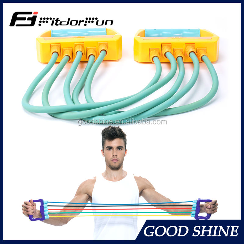 Factory Wholesale Indoor Gym Equipment Rubber Chest Expander Kit chest exercise equipment