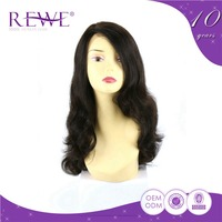 Formal Specialized Produce Direct Price 22 Inch Curly Natural Half Wig Human Hair
