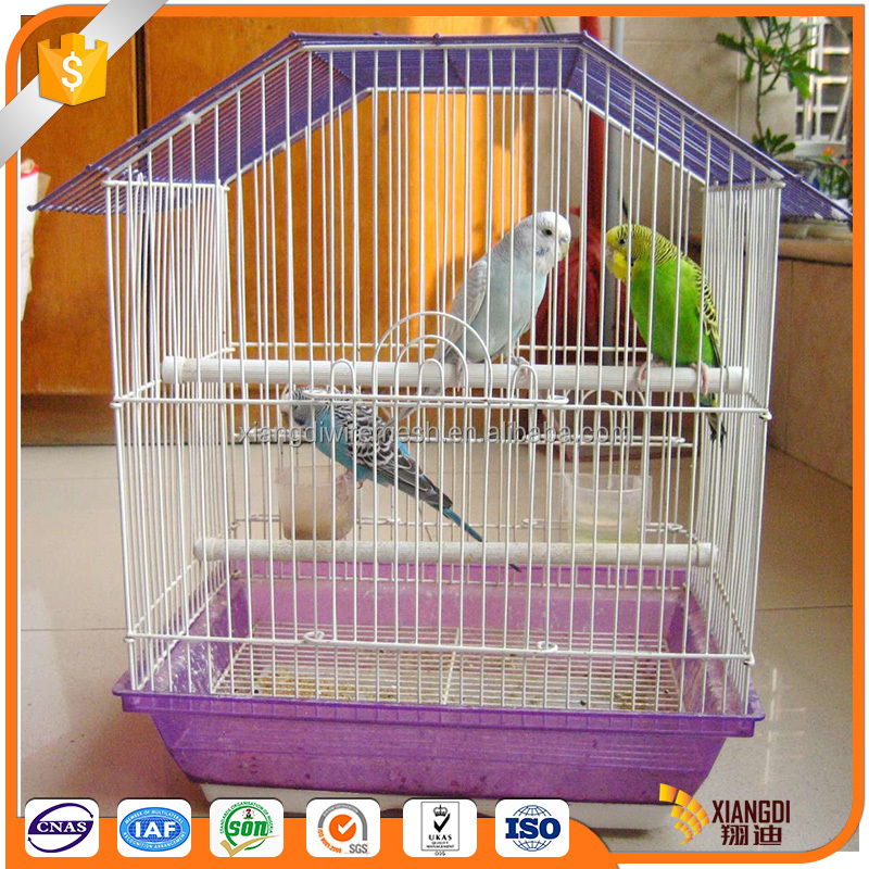 High quality customize colorful foldable lovebird cage