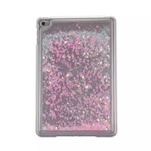 Alibaba china factory Glitter Quicksand Tablet pc case for iPad Mini 4 Liquid back cover for ipad mini4 Plastic hard case