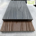 co-extrusion wood plastic composite decking one side one color