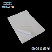 self adhesive Peel off woodfree offset acryl paper with silicon liner sticker