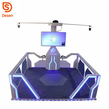 2017 9d VR Walker Shooting HTC Vive Standing 9d VR Shooting Equipment Gun Shooting Game Machine