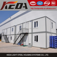 Low Cost Modular House Factory Manufacture Prefab Container Home for sale