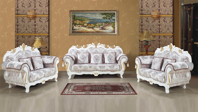 Antique sofa set fabric arabic style living room furniture foshan furniture markets 1 2 3 buy for Arabic style living room furniture
