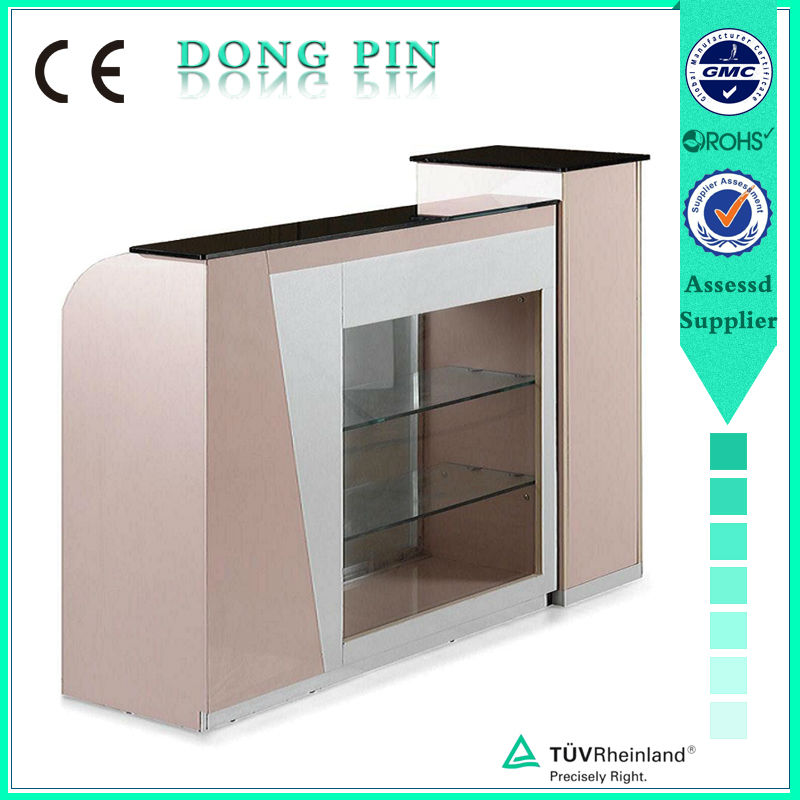 multifunction reception counter table salon furnitures