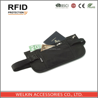 Polyester RFID Blocking Travel Money Belt