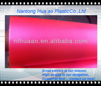 PVC stretch transparent film for rainwear/diaper moisture proof
