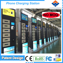 6 lokcers cheap Fast charge wifi universal cell Phone charging tower/ battery emergency mobile phone charger APC-06A