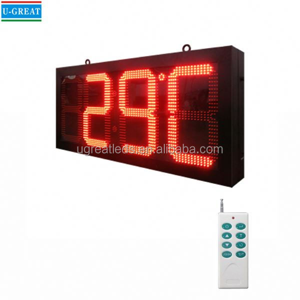 New product high quality and competitive price RF control led timer sports timer display board with GPS