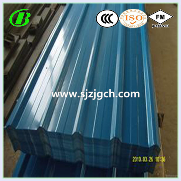 galvanized curving corrugated steel roof sheet