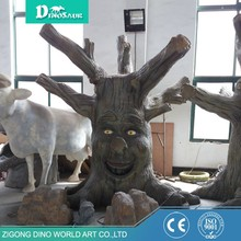 Factory Price Silicone Rubber Animatronic Artificial Tree