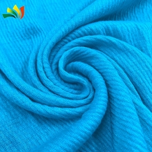 Polyester plain dyed knitted jacquard jersey fabric