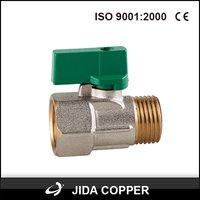 brass air vent foot gas stove valve