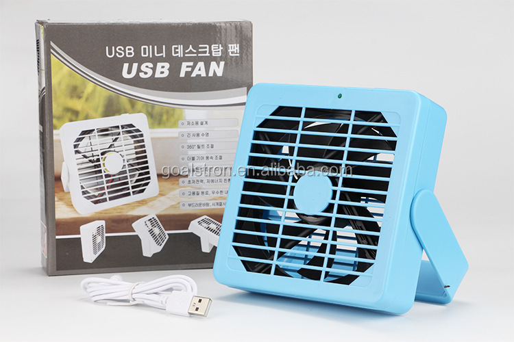 Portable Rechargeable USB Table Fan 2016 Best Selling